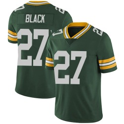 Nike Henry Black Green Bay Packers Youth Limited Green Team Color Vapor Untouchable Jersey