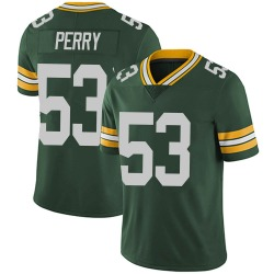 Nike Nick Perry Green Bay Packers Men's Limited Green Team Color Vapor Untouchable Jersey