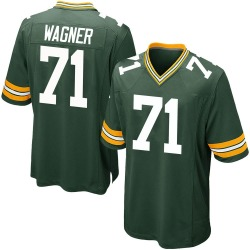 Nike Rick Wagner Green Bay Packers Youth Game Green Team Color Jersey