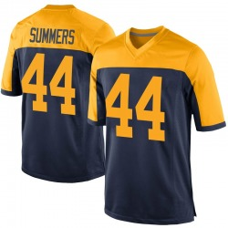 Nike Ty Summers Green Bay Packers Men's Game Navy Alternate Jersey