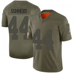 Nike Ty Summers Green Bay Packers Youth Limited Camo 2019 Salute to Service Jersey
